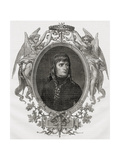 Portrait of Napoleon Bonaparte (1769-1821) Engraved by Stephane Pannemaker (1847-1930) Giclee Print by Eugene Joseph Viollat