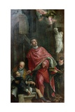 St. Pantaleone Healing a Child, 1587 Giclee Print by Paolo Veronese