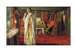 The Actor Mounet Sully Wearing Roman Costume in His Dressing Room Giclee Print by Louis Edouard Paul Fournier