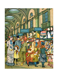 Lowther Arcade from 'London Town' Giclee Print by  Thomas Crane and Ellen Houghton