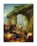 Pastoral Scene Giclee Print by Francois Boucher