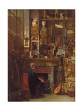 By the Studio Fire, 1860 Giclee Print by John Dawson Watson