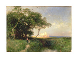 The Coast of Florida, 1882 Giclee Print by Thomas Moran