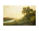 View of Loch Ness Giclee Print by Alexander Nasmyth