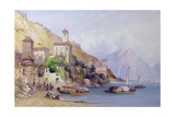 Gravedona, Lake Como, 1895 Giclee Print by William Callow