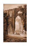 Tintern Abbey, from the 'Historical Tour Through Monmouthshire' by William Coxe, Printed by T.… Giclee Print by Sir Richard Colt Hoare