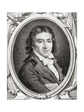 Portrait of Camille Desmoulins (1760-94) Giclee Print by Leopold Mar
