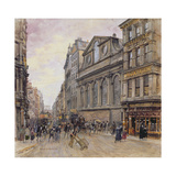 St. Peter's, Cornhill and Gracechurch Street Giclee Print by Henry Edward Tidmarsh