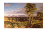 A Vale of Clwyd, 1846 Giclee Print by David Cox