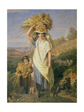 The Gleaners Giclee Print by Joshua Cristall