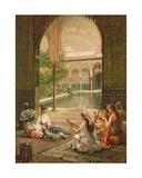La Sultane Giclee Print by Filippo Baratti