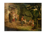 The Pet Lamb, C.1831 Giclee Print by William Collins