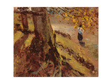 Study of Tree Trunks Giclee Print by John Constable