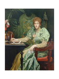 Portrait of Frances, Lady Layland-Barratt Giclee Print by Valentine Cameron Prinsep