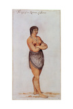 Indian Woman of Secoton Giclee Print by John White
