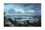 New York from Heights Near Brooklyn, 1820-23 Giclee Print by William Guy Wall