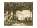 The Hall of Mirrors in the Palace of the Sardar of Yerevan, Armenia, Plate 17 from a Book on the… Giclee Print by Grigori Grigorevich Gagarin