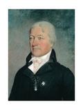 Marie Joseph Paul Yves Roch Gilbert Motier (1757-1834) Marquis De Lafayette Giclee Print by James Sharples