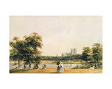 Westminster from St. James's Park Giclee Print by Thomas Shotter Boys