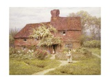 Rose Cottage, Shottermill Giclee Print by Helen Allingham
