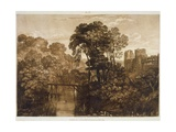 F.58.I Berry Pomeroy Castle, from the 'Liber Studiorum', Engraved by the Artist, 1816 Giclee Print by J. M. W. Turner