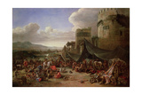 The Sack of Rome in 1527 Giclee Print by Johannes Lingelbach