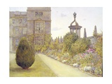 The East Court, Montacute House, Somerset Giclee Print by Ernest Arthur Rowe