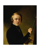 Self Portrait of the Artist Giclee Print by Sir George Hayter