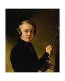 Self Portrait of the Artist Giclee Print by Sir George Hayter