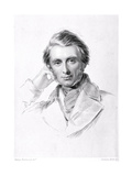 Portrait of John Ruskin (1819-1900) Engraved by Francis Holl (1815-84) Giclee Print by George Richmond