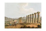 Ruins of an Aqueduct Near Ephesus, 1810 Giclee Print by Luigi Mayer