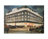 The New Building, Bourne and Hollingsworth, Oxford Street Giclee Print by Charles Edward Dixon