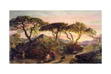 Sunset Giclee Print by Samuel Palmer
