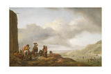 The Day's Catch Giclee Print by Philips Wouwermans Or Wouwerman