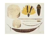 Tools, Weapons and Utensils of Puri and Botocudos Tribes, Rio Grande Region, Paraguay and Brazil,… Giclee Print by Paolo Fumagalli