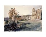 Garden at San Miniato Giclee Print by John Ruskin