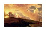 Clytie, C.1890-92 Gicleetryck av Frederick Leighton