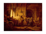 The Parable of the Labourers in the Vineyard Giclee Print by  Rembrandt van Rijn