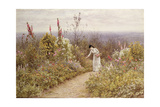 A Garden in October, Aldworth, 1891 Giclee Print by Helen Allingham