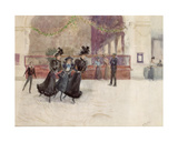 The Skaters Giclee Print by Albert Ludovici