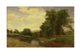 New England Landscape Giclee Print by Aaron Draper Shattuck