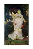 The Lady of Shalott, 1894 Giclee Print by John William Waterhouse