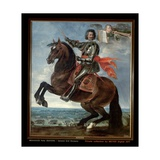 Portrait of General Graf Bouquoy Giclee Print by Peeter Snayers
