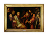 Christ before Herod, C.1558-62 Giclee Print by Andrea Schiavone