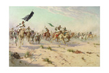 The Flight of the Khalifa after His Defeat at the Battle of Omdurman, 2nd September 1898, 1899 Giclee Print by Robert George Talbot Kelly