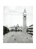 View of Piazza S. Marco 1880-1920 Giclee Print
