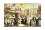 The Times, Pub. by H.R. Robertson, New York, 1837 Giclee Print by Edward Williams Clay