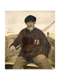 The Father Alcazia Giclee Print by Jean Francois Raffaelli