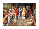 The Acts of the Apostles, the Mortlake Tapestries Reproduction procédé giclée par  Raphael