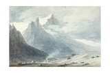 In the Canton of Unterwalden Giclee Print by John Robert Cozens